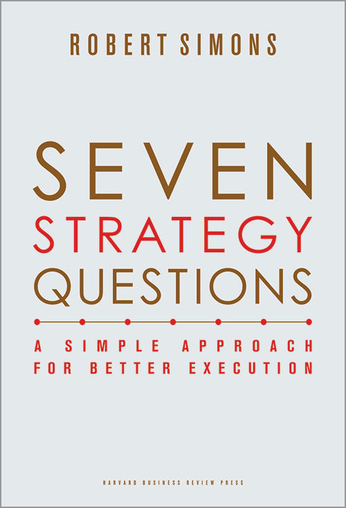 Seven Strategy Questions Book Cover